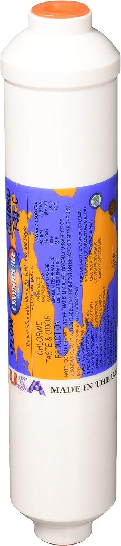Omnipure CL10ROT33-C GAC Inline Water Filter