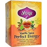Yogi Vanilla Spice Perfect Energy Tea Bags, 16 count (Pack of 2)