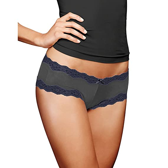 49831be3897f Maidenform Cheeky Scalloped Lace Hipster 40823: Amazon.ca: Clothing &  Accessories