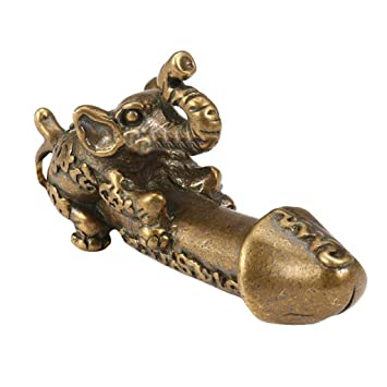 Nuevo! Llavero de elefante vintage con diseño de Santa ...