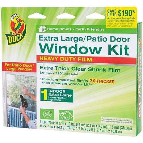 Duck Brand Xl Heavy Duty Patio Door Window Shrink Kit