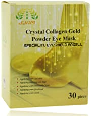 MAIB 30 Pairs Crystal Collagen Gold Powder Eye Mask Eye Patches Eye Mask For Face Care Dark Circles Remove Gel Mask