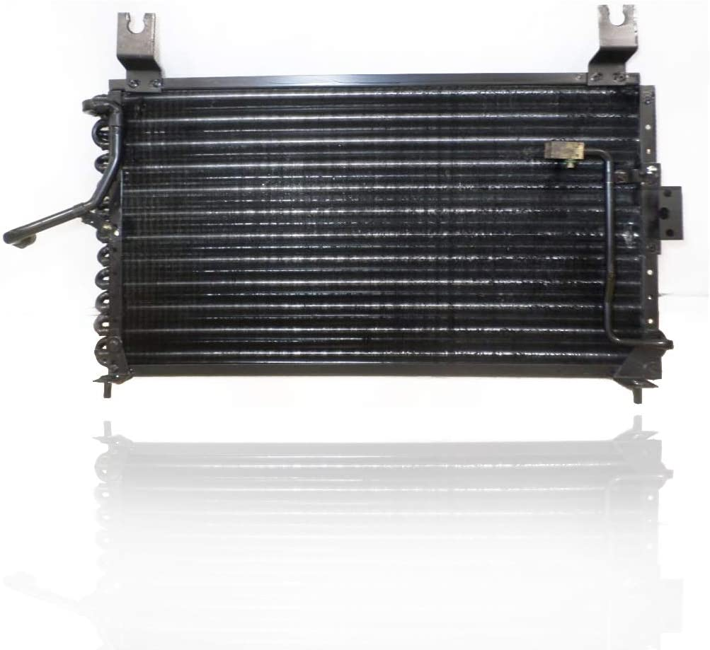 Cooling Direct For//Fit 94-97 Kia Sephia 1.6L A-C Condenser 0K2416148AA With Block /& O-Ring Fitting
