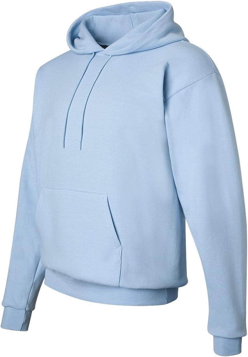 Hanes Comfort EcoSmart Pullover Hooded Sweatshirt Light Blue