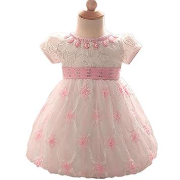 Wgwioo Vestido De Vestidos Tul Gasa Y Las Muchachas De Flor Vestido Ropa De Niños Princesa