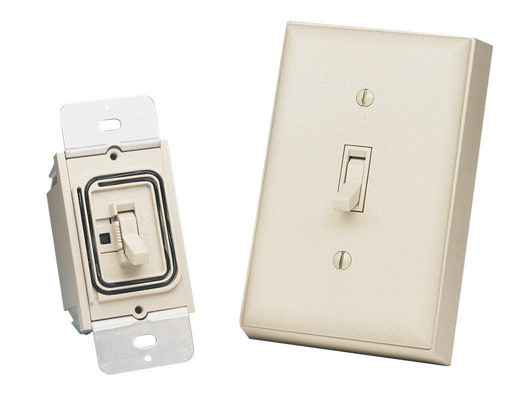 Heath Zenith BL-6133-LA Basic Solutions Wireless Switch and Wall ...