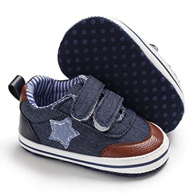 796ec3a1d5b0e8 Babycute Infant Canvas Shoes Trainers Soft Sole Casual Sneakers Baby Boys  Girls First Walkers Shoes Lace