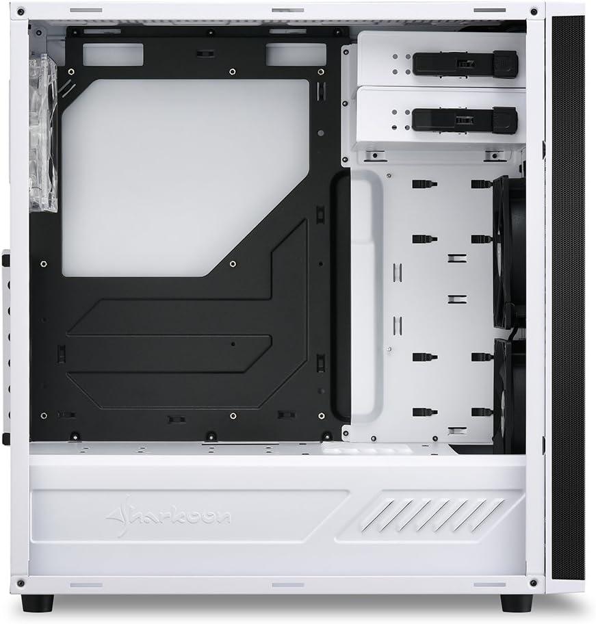 Sharkoon M25 W 7 1 Pc Gehäuse Weiß Computer Zubehör