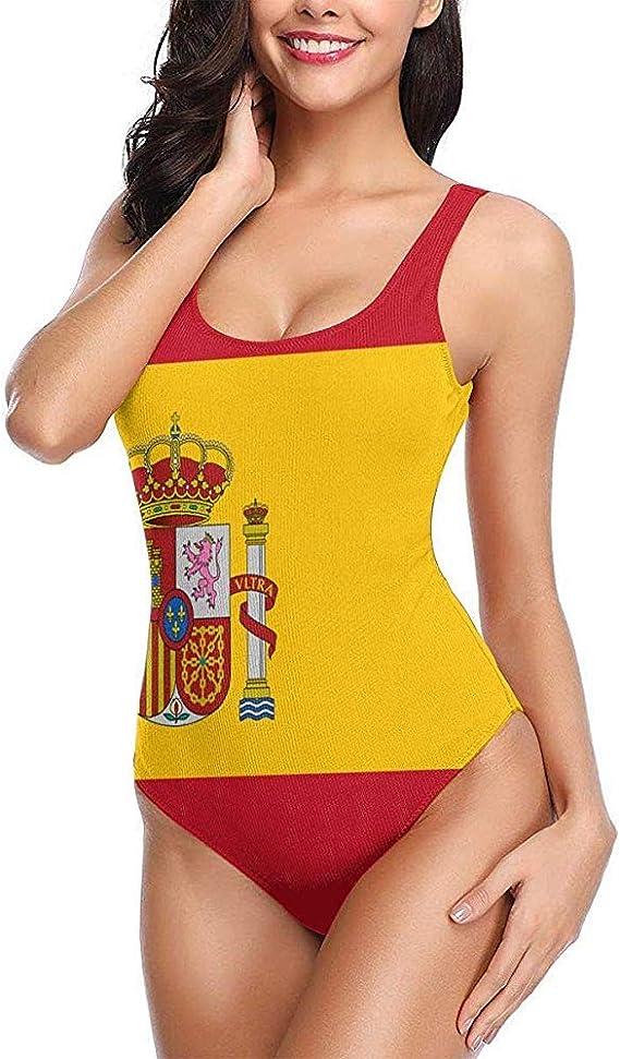 Bandera de España Traje de baño para Mujer Traje de baño de ...