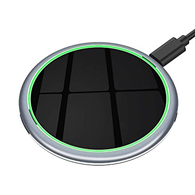 Yootech 7.5W/10W/15W Metal Wireless Charger,15W Max Wireless Charging Pad Compatible
