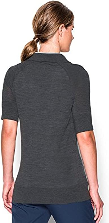 Under Armour suéter Polo para Mujer, Mujer, Color Carbon Heather ...