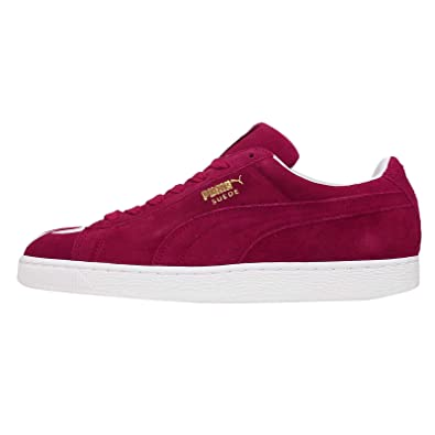 check out 5dba8 c74cf Puma Monster Cat Classic Suede Unisex Trainer Shoes (4.5 UK, Monster Red)