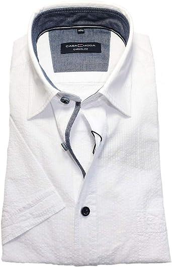 CASAMODA Crashstruktur - Camisa de Manga Corta (Corte ...