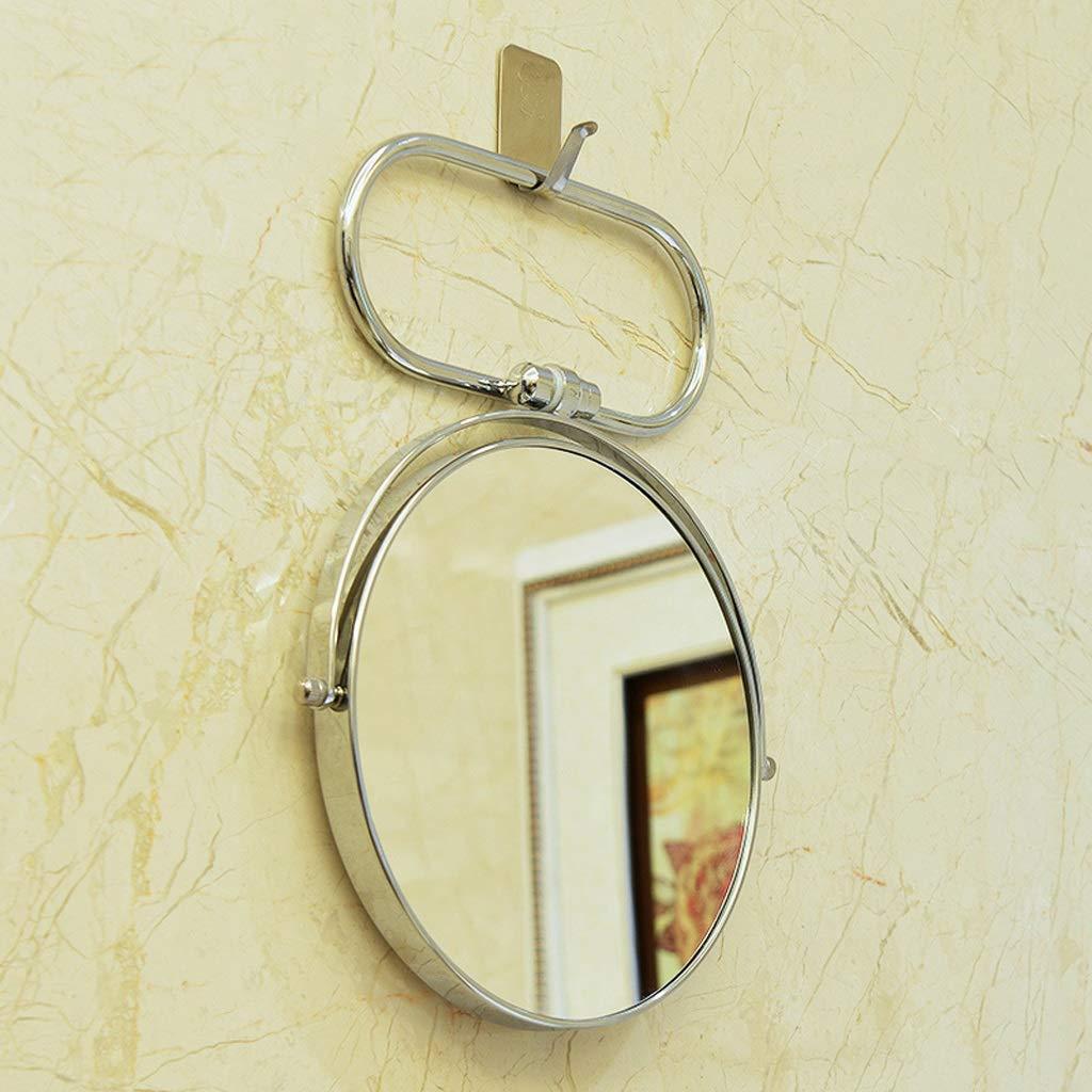 C&Q CQ Mirror Folding Mirror Mirror Double Sided Mirror European Metal Mirror Wall Mirror Portable Mirror by C&Q (Image #4)