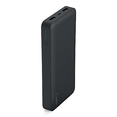 Belkin Pocket Power Bank - Batería Externa portátil de 15000 mAh (con certificación de Seguridad