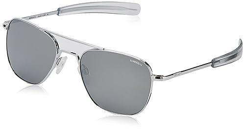 Amazon.com: Randolph Aviator - Gafas de sol (2.165 in ...