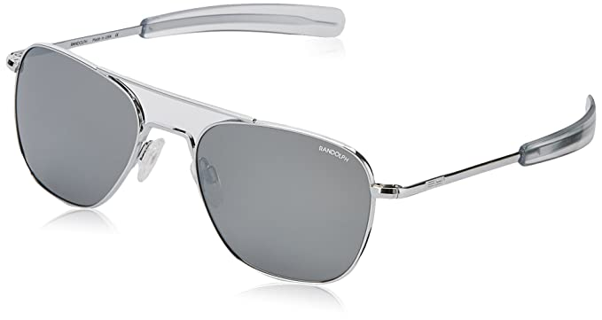 Randolph Engineering Aviator Gafas de sol cromado brillante ...