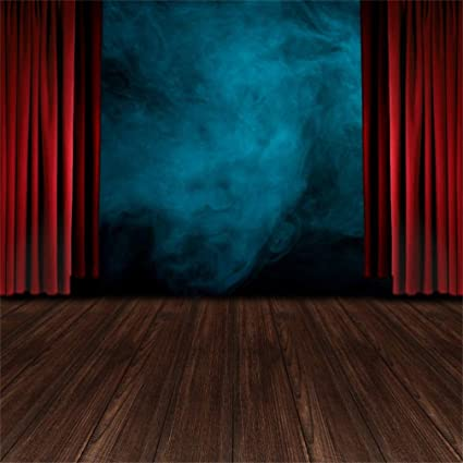 Amazon Csfoto 4x4ft Background Performance Stage With Red
