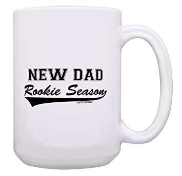 Amazon New Dad Gifts Rookie Season Mug Pregnancy