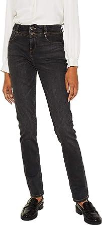 Esprit dżinsy stretch z podwÓjnym guzikiem - 32W / 30L: Odzież