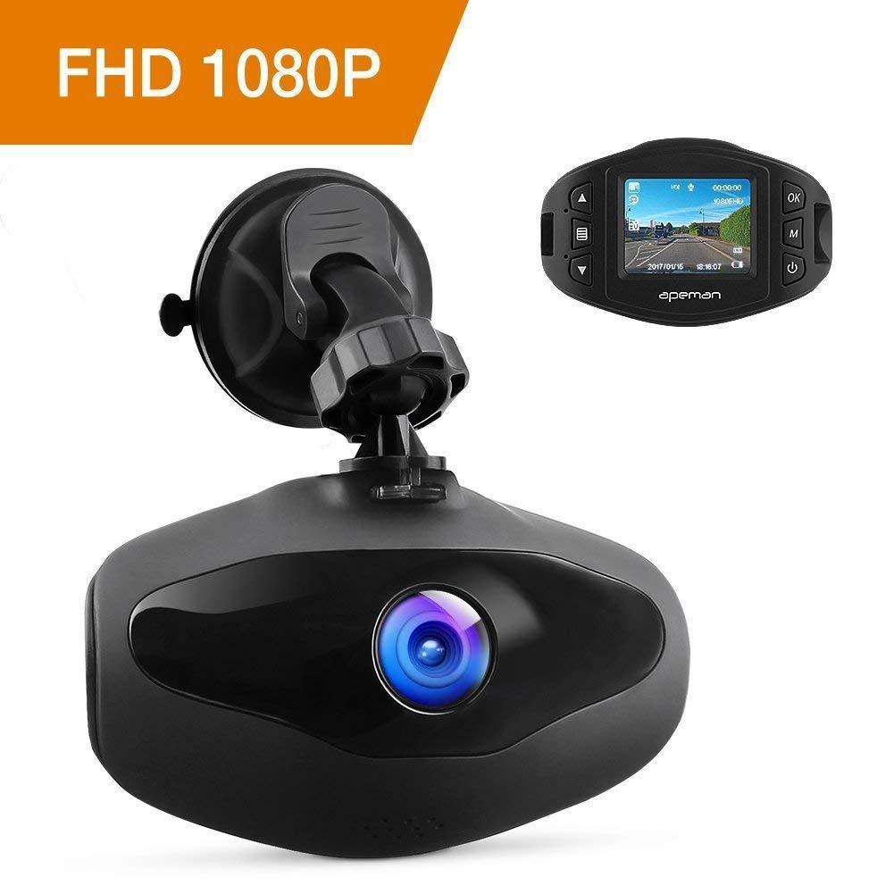 APEMAN C470 Camé ra de Voiture/Enregistreur vidé o 1080p Full HD