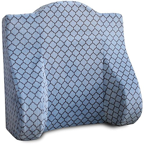Back Buddy All In One Maternity Pillow for Nursing Breastfeeding Postpartum and Back Support Helps Relieve Lower Back Pain - Minky Brooks by Back Buddy