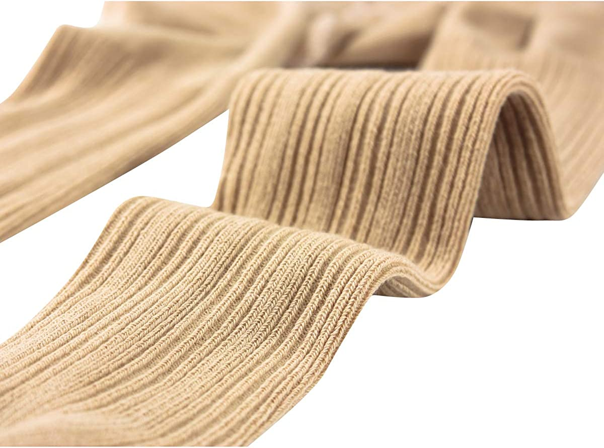 vanberfia Baby Girls Tights Cable Knit Leggings Stockings Infants Toddlers 2-8T Cotton Pantyhose 3 Pack