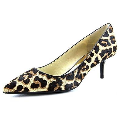 691a0b5e03ea Michael Michael Kors Flex Kitten Pump Women US 5.5 Brown Heels ...