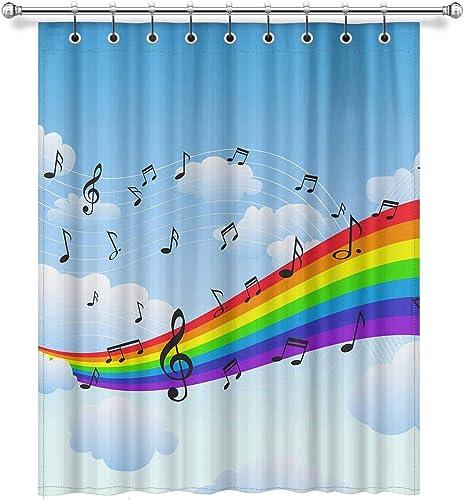 InterestPrint Happy Rainbow