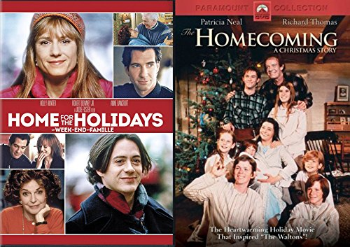 Family Christmas Collection: The Homecoming: A Christmas Story & Home For the Holidays 2-Movie Bundle (Open All Christmas Hours)