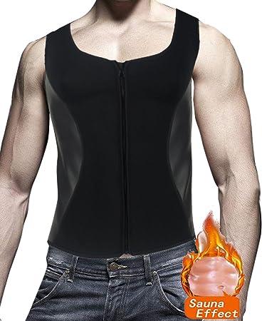 Amazon.com: DODOING - Camiseta de neopreno para hombre, con ...