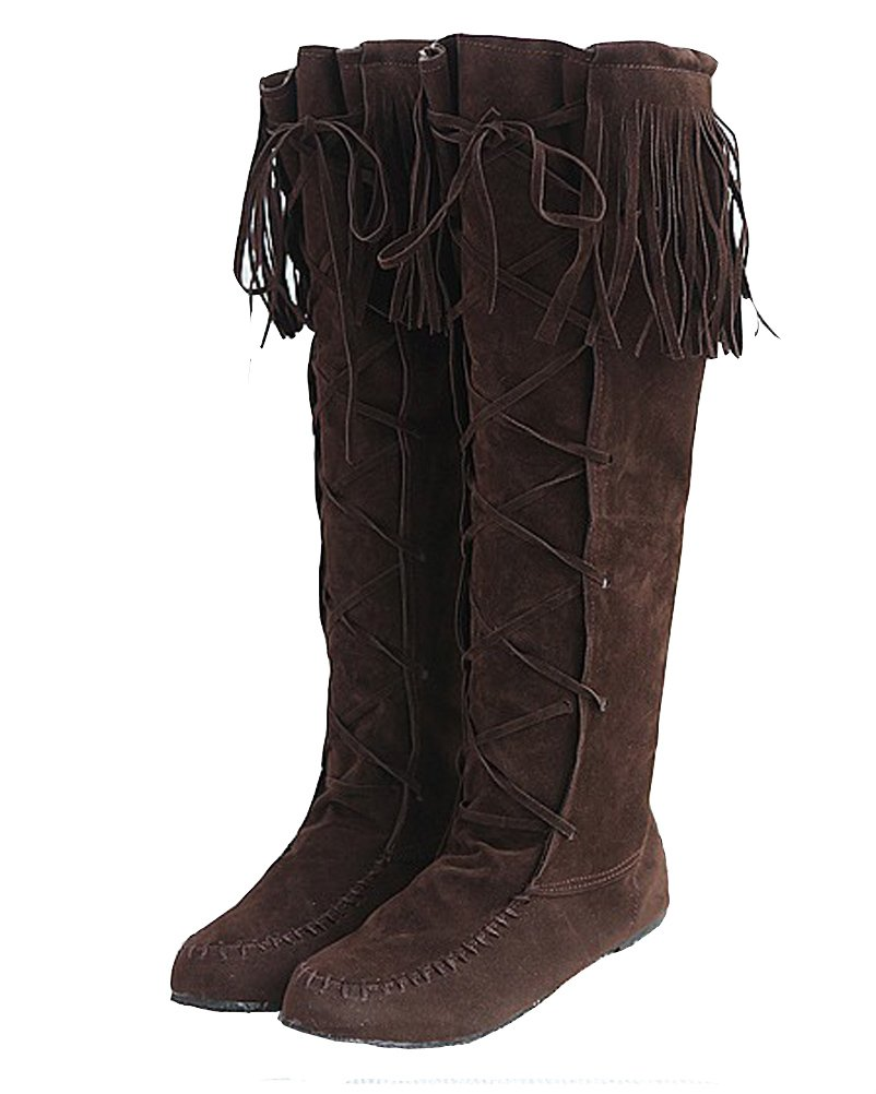 HiTime HiTime Bottes Femme Indiennes 19920 Femme Marron bf749d8 - fast-weightloss-diet.space