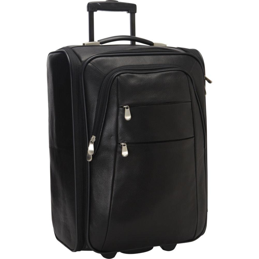 Preferred Nationレザー折りたたみ荷物 B00EDBR6H2 ブラック One Size