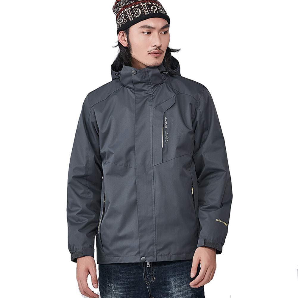 RSTJ-Sjcw Men es Waterproof Fleece Mountain Jacket Warm Ski Snowboarding Jacket