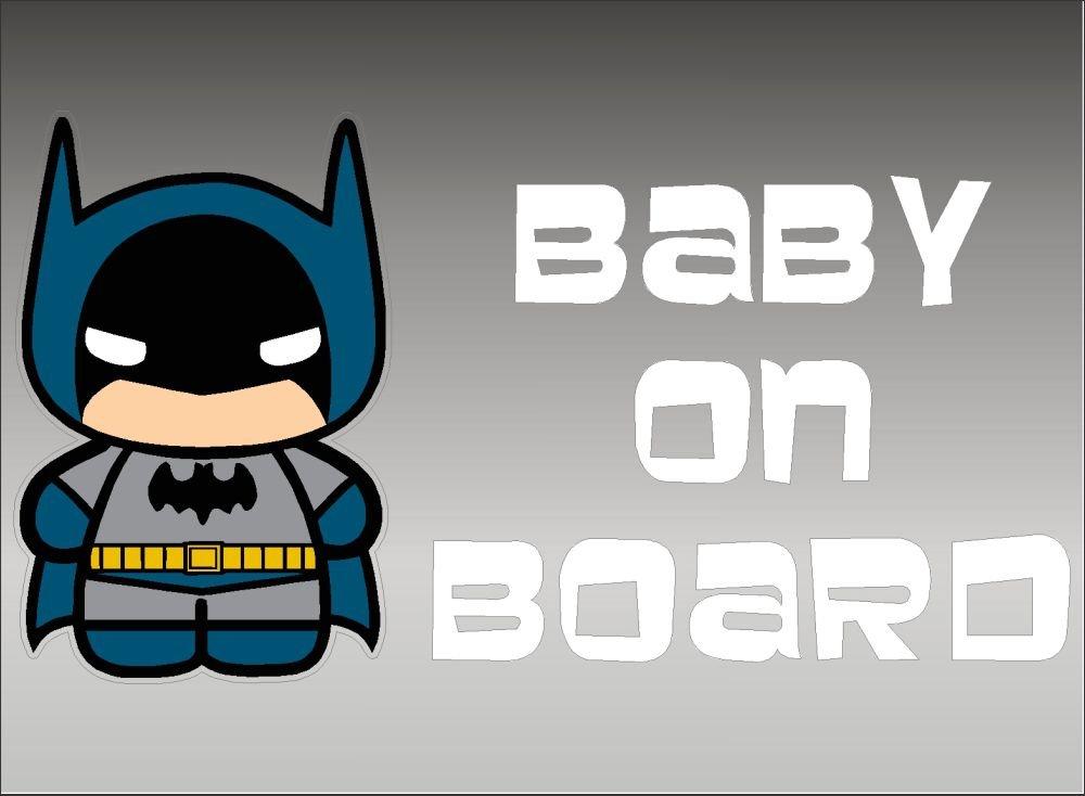 バットマン Baby On Board デカール ビニール ステッカー グラフィック   B012LSD5RS