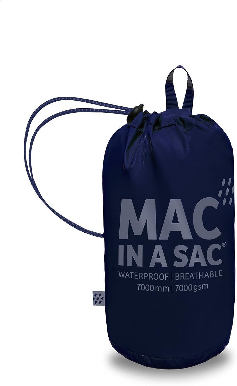 Mac in a Sac Chaqueta de Packaway Impermeable Unisex de Origen