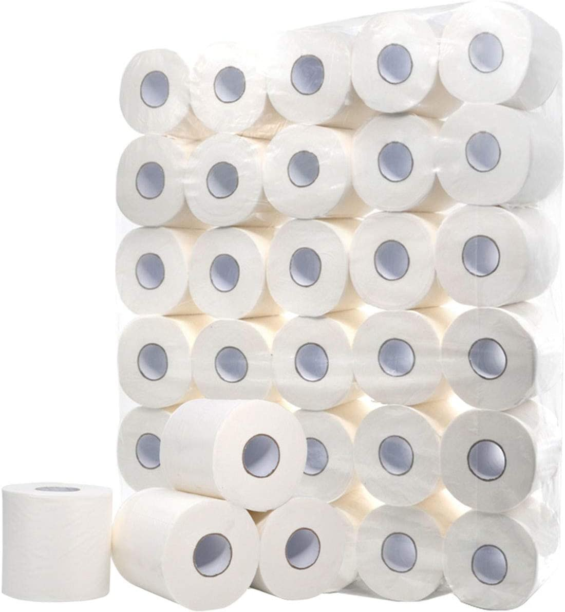 256 Sheets 5oz Per Roll Soft Home Kitchen Lengthen//Thicken and Strong//Highly Absorbent GARDWENS 12 Rolls Silky 4-Ply