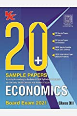 20 Plus CBSE Sample Papers Economics Class 12 for 2021 Exam with Reduced Syllabus Kindle Edition
