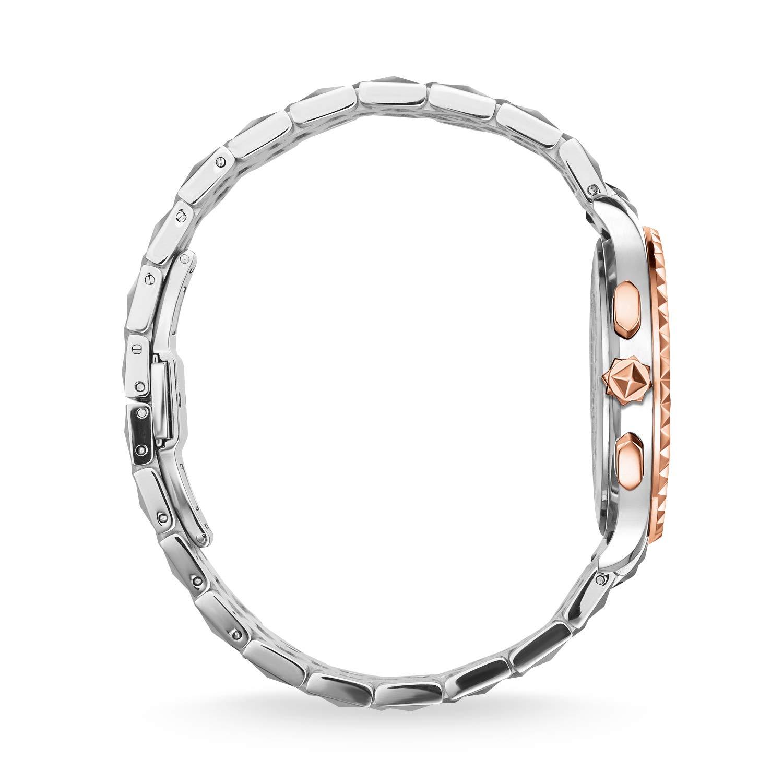 Damen Armband Chronograph Uhr Quarz Mit Wa0347 Thomas Sabo Edelstahl 3LAScRj54q
