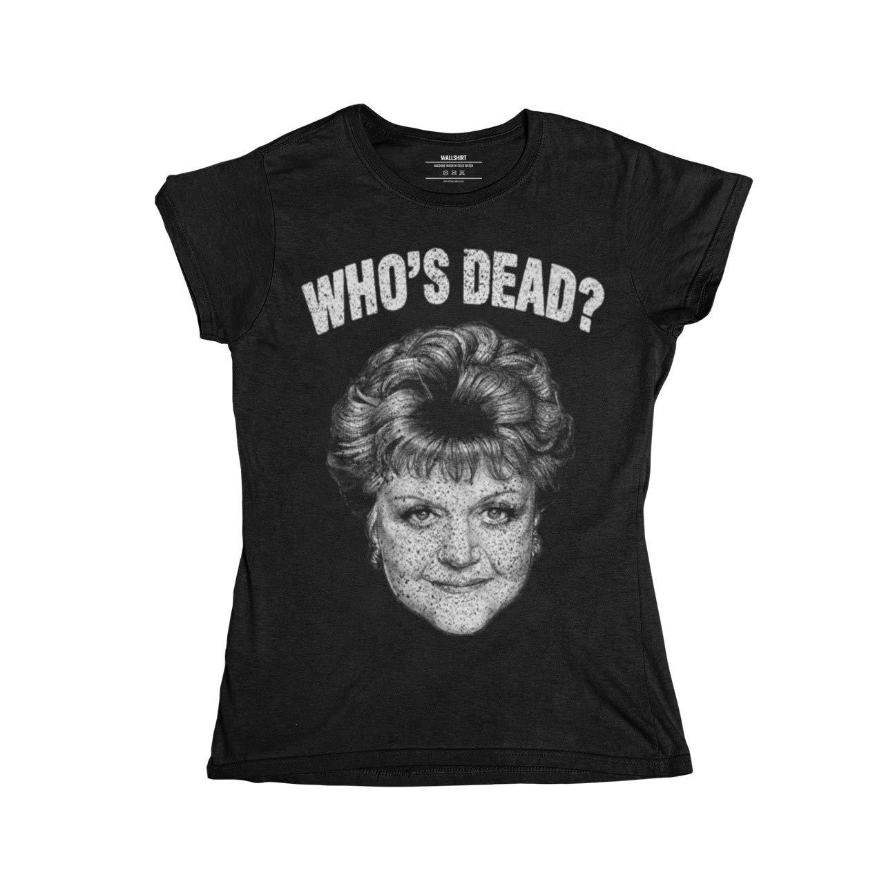 wallshirt T-Shirt Donna Jessica Fletcher La Signora in Giallo