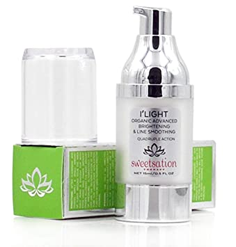 ILight Organic Advanced Brightening and Line Smoothing Eye Treatment, The  BEST Eye Cream For