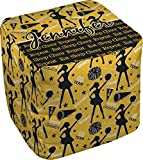 RNK Shops Cheer Cube Pouf Ottoman - 13'' (Personalized)