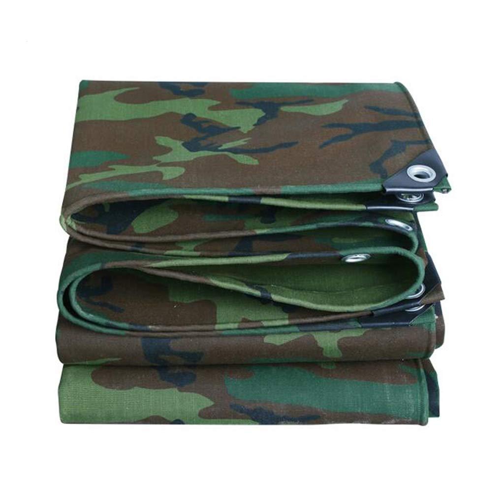 4.5×8m 15×26ft Mysida Tarpaulin BÂche de Camouflage épaissie bÂche Camouflage de Toile imperméable de Couverture de Feuille de bÂche de Camouflage (Taille   1.5×3m 5×10ft)