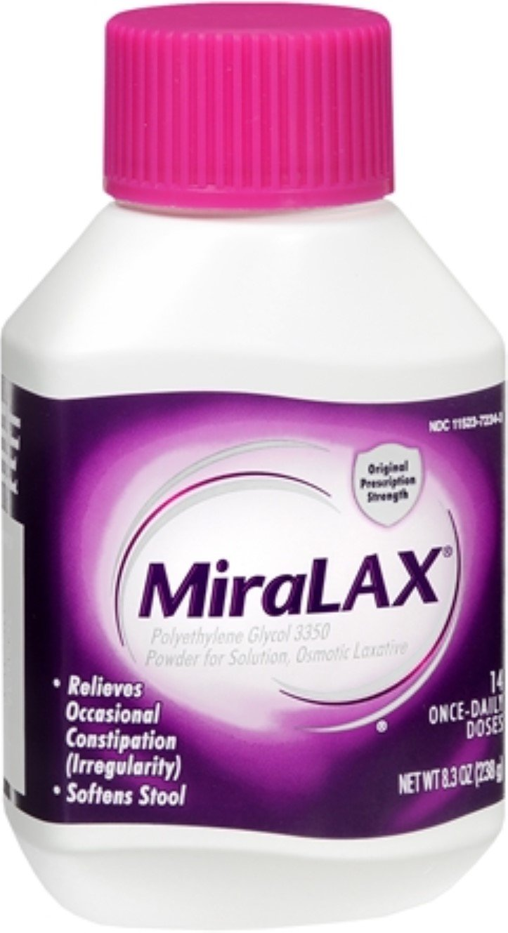 MiraLAX Powder 8.30 oz (Pack of 8)