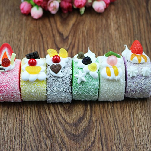Fake Food Props Fake Cake Realistic Artificial Dessert Kitchen Display Party Cosplay Decoration Prank Gift