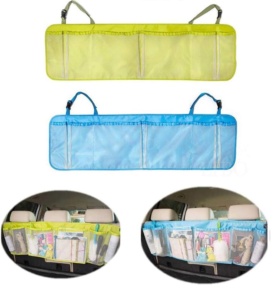 Topist Multi Pocket Car Backseat Storage Chest Organizer Back Seat Organiser Storage Bag Mayyou Car Boot Organisator