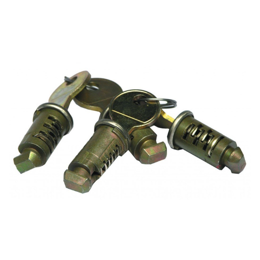 Thule Cierre a Cilindro simultáneo 4 Unidades (One-Key-System): Amazon.es: Coche y moto