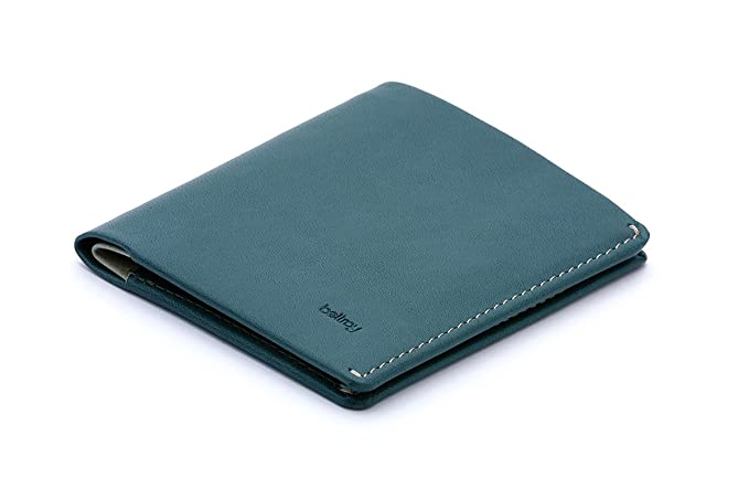 Bellroy Note Sleeve Leather Wallet, Teal