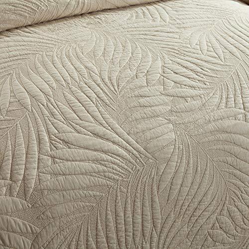 bcca62e7d1605 Cotton World Li Quilt Set King Premium 3 Piece Oversized Bedspread Set  Reversible Elegant Embroidery Bed Cover Luxury Coverlet Lightweight -  Wrinkle & ...