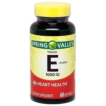 Amazon Com Spring Valley Natural E Vitamin D Alpha Dietary